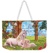Unicorn Mother And Foal Weekender Tote Bag