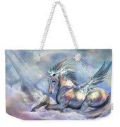 Unicorn Of Peace Weekender Tote Bag