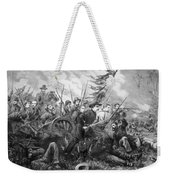 Union Charge At The Battle Of Gettysburg Weekender Tote Bag