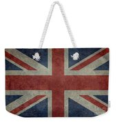 Union Jack 3 By 5 Version Weekender Tote Bag