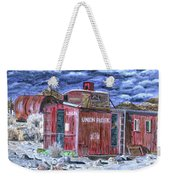 Union Pacific Train Car Painting Weekender Tote Bag