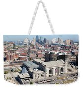 Union Station And Downtown Kansas City Weekender Tote Bag