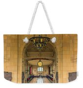 Union Station Chandelier Weekender Tote Bag