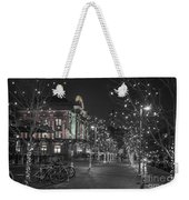 Union Station In The Winter Weekender Tote Bag