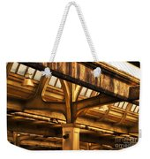 Union Station Roof Structure Weekender Tote Bag