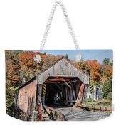 Union Village Covered Bridge Thetford Vermont Weekender Tote Bag