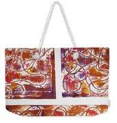 Unique Abstract II Weekender Tote Bag by Yael VanGruber