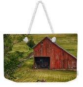Unique Barn In The Palouse Weekender Tote Bag