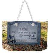 Unique Epitaph Weekender Tote Bag