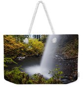 Unique View Of Ponytail Falls Weekender Tote Bag