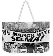 United For Justice Weekender Tote Bag by Benjamin Yeager