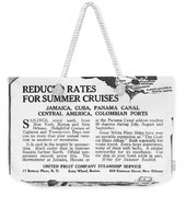 United Fruit Company, 1922 Weekender Tote Bag