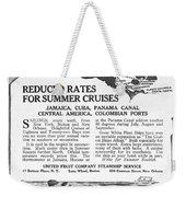 United Fruit Company, 1922 Weekender Tote Bag
