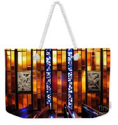 United States Air Force Academy Cadet Chapel Detail Weekender Tote Bag