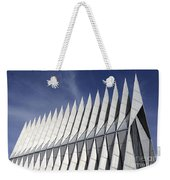 United States Airforce Academy Chapel Colorado Weekender Tote Bag