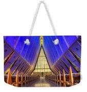 United States Airforce Academy Chapel Interior Weekender Tote Bag