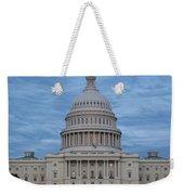 United States Capitol Building Weekender Tote Bag by Kim Hojnacki