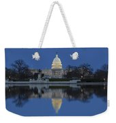 United States Capitol Building Weekender Tote Bag by Susan Candelario