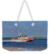 United States Coast Guard Weekender Tote Bag by Kim Hojnacki