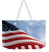 United States Flag Weekender Tote Bag