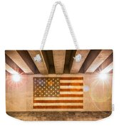 United States Flag Weekender Tote Bag