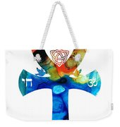 Unity 16 - Spiritual Artwork Weekender Tote Bag