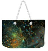 Universal Mind Weekender Tote Bag by Betsy Knapp