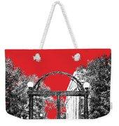 University Of Georgia - Georgia Arch - Red Weekender Tote Bag