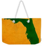 University Of Miami Hurricanes Coral Gables College Town Florida State Map Poster Series No 002 Weekender Tote Bag