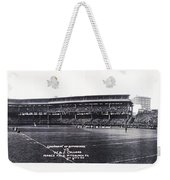University Of Pittsburgh Vs W And J College Forbes Field Pittsburgh Pa 1915 Weekender Tote Bag
