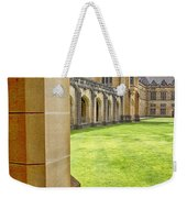 University Of Sydney Quadrangle V2 Weekender Tote Bag