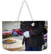 Unknown Hero Weekender Tote Bag