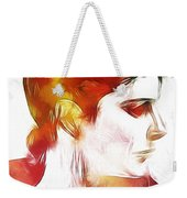 Unknown Lady Weekender Tote Bag