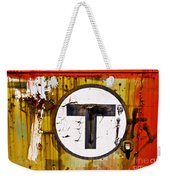 Unknown T - Railroad Art Weekender Tote Bag