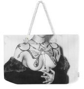 Tattoo Photograph Weekender Tote Bag