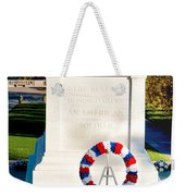 Unknown Tribute Weekender Tote Bag