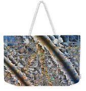 Pond Abstract Weekender Tote Bag