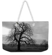 Winters Gloom Weekender Tote Bag