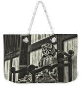 Unusual Statue 2 Weekender Tote Bag
