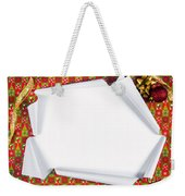 Unwrapping Gifts Weekender Tote Bag