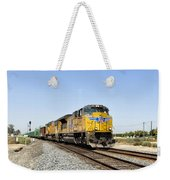 Up 8587 Southbound From Traver Weekender Tote Bag