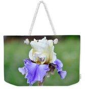 Up Close Elegant Iris Weekender Tote Bag