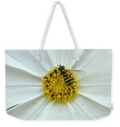 Up Close With The Bee And The Cosmo Weekender Tote Bag