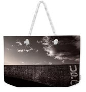Up One Weekender Tote Bag by Bob Orsillo