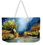 Up The Creek Weekender Tote Bag