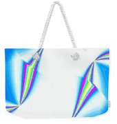 Upbeat Abstract Oval Weekender Tote Bag