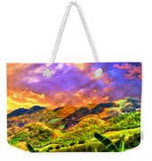 Upcountry Maui Sunset Weekender Tote Bag