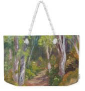 Uphill Path-batiquitos Weekender Tote Bag