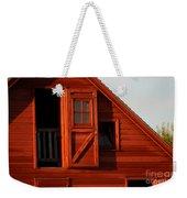 Upper Barn Door-3704 Weekender Tote Bag