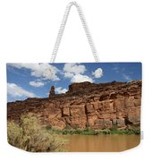 Upper Colorado River View Weekender Tote Bag
